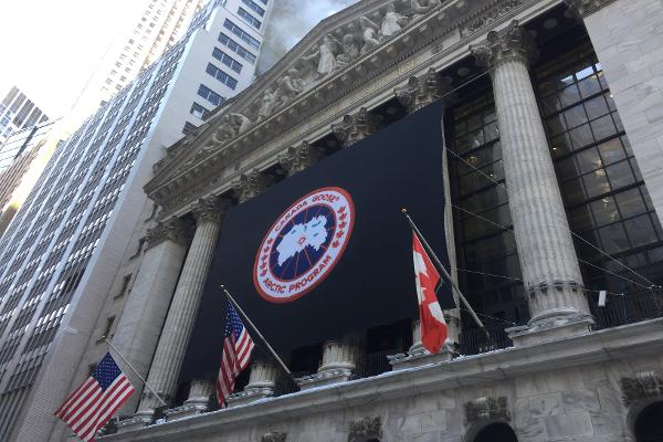 Watch PETA Activists Outside the NYSE Rake Canada Goose Over the Coals for Its Use of Fur