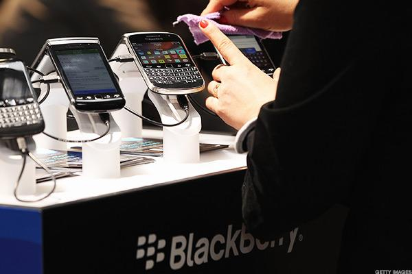 BlackBerry discontinued its own phones in 2016.