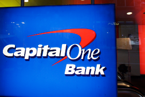 Capital One Climbs on First-Quarter Earnings Beat