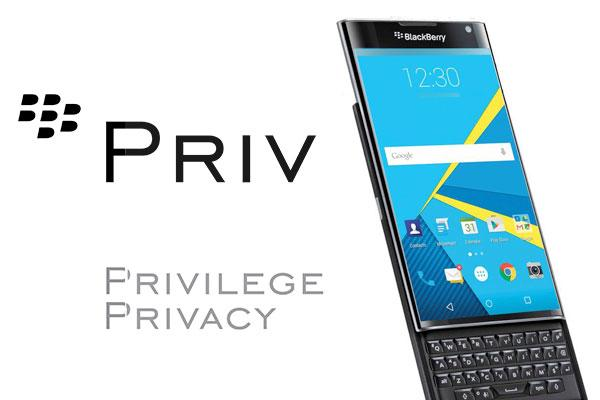 The BlackBerry PRIV Is an Android Phone With a Lot to Like
