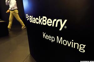 Blackberry (BBRY) Stock Lower as Macquarie Upgrades