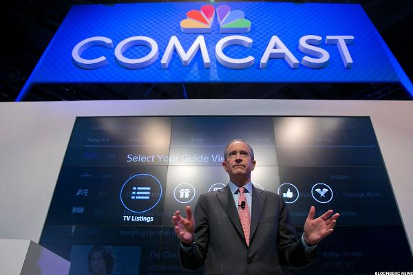 Take Profits in Comcast at All-Time Highs -- Plus Jim Cramer's Take
