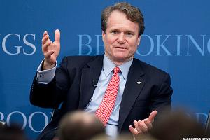 Bank of America CEO Brian Moynihan: Fed Rate Increases to 'Have a Big Impact on Us'
