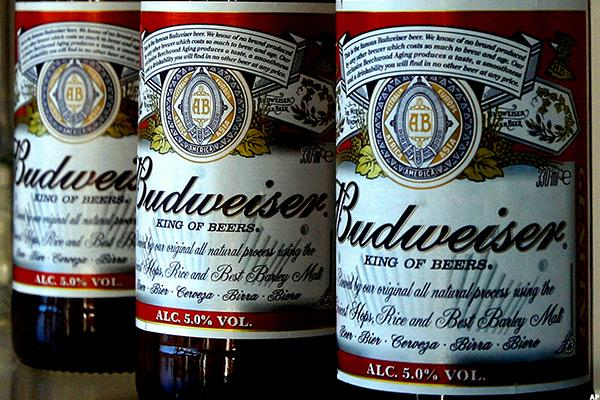 Brazil Woes Force Budweiser Maker AB InBev to Slash Outlook
