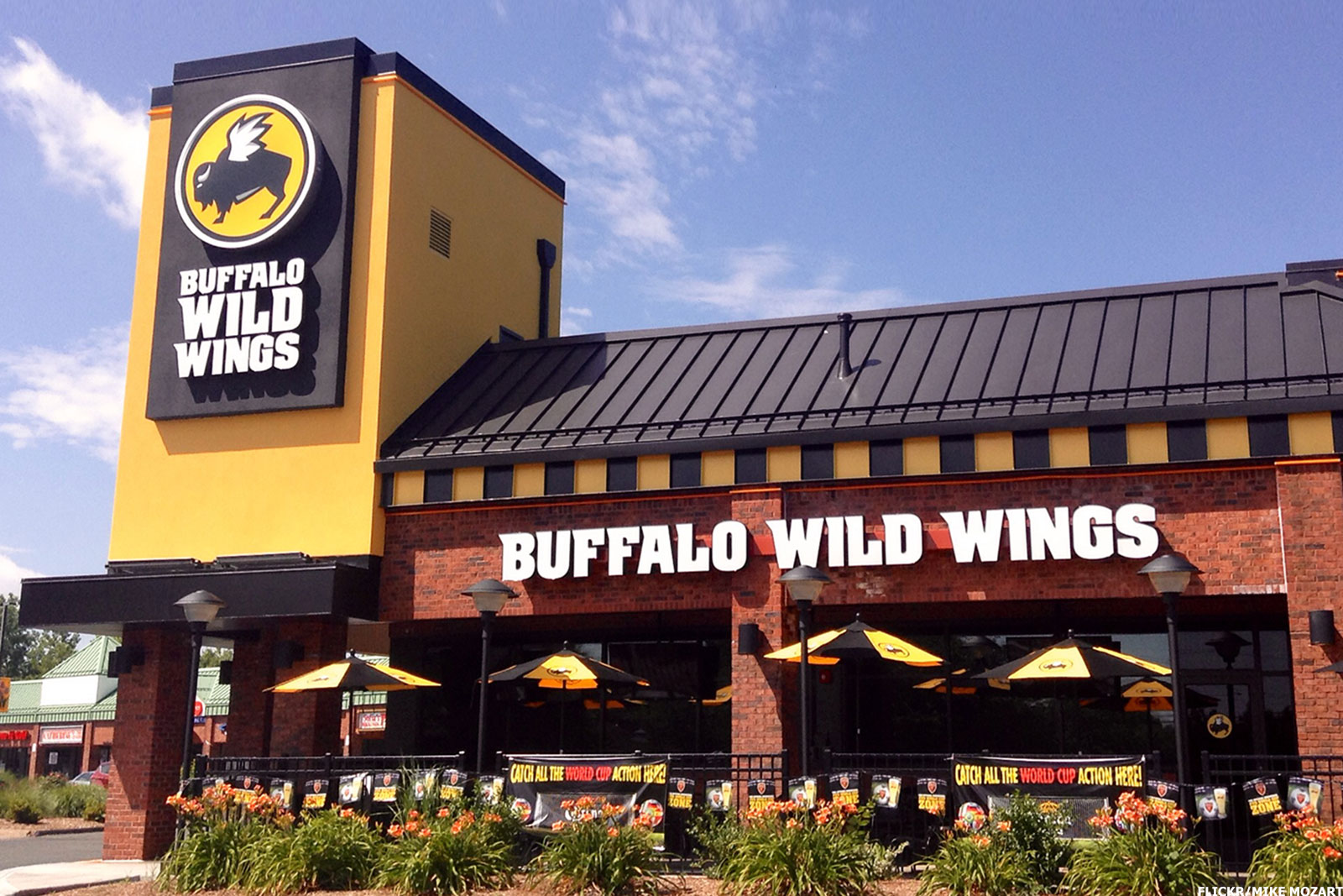 "Buffalo Wild Wings (or ""B-Dubs,"" as it's known by only the douchiest of your remaining friends) is already famous for having more televisions per square inch than literally anyplace on earth, as well as their 21 signature Buffalo wing sauces."