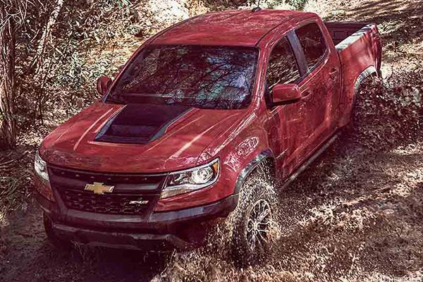 Every Macho Guy's Dream Ride May Be This Rugged New Chevrolet Colorado ZR2