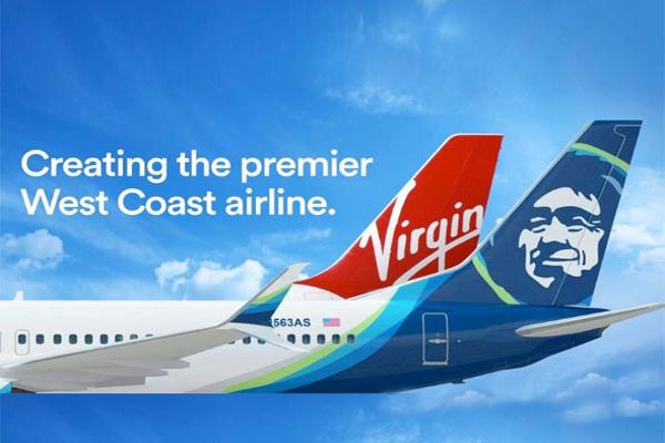 Alaska/Virgin America Deal at $57 a Share Has a 75% Chance, Analyst Says