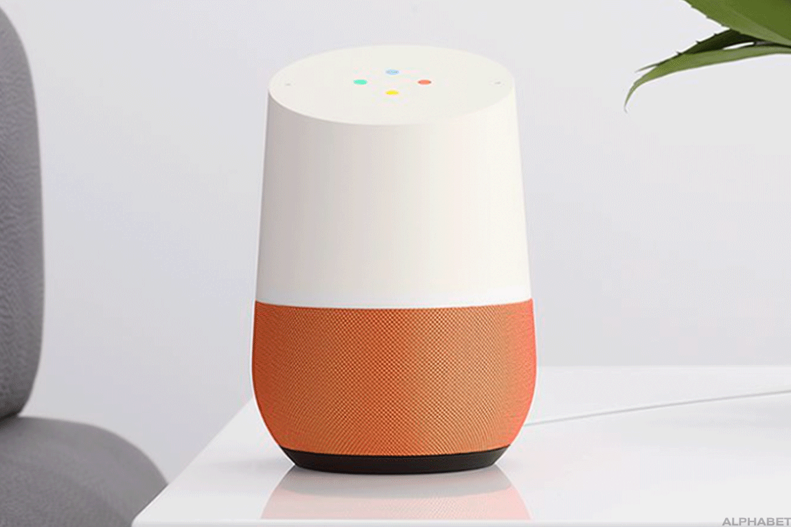 The Google Home smart speaker is one of many devices that house Google's voice assistant technology.