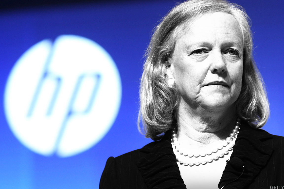 A look at Meg Whitman's career.