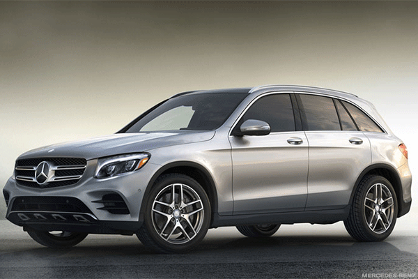 8. Mercedes-Benz GLC