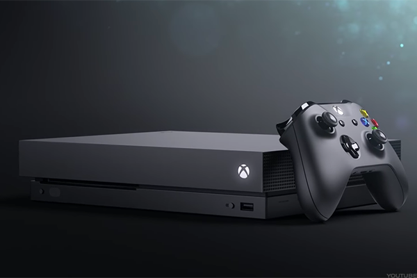 The XBox One X is the most powerful gaming console ever.