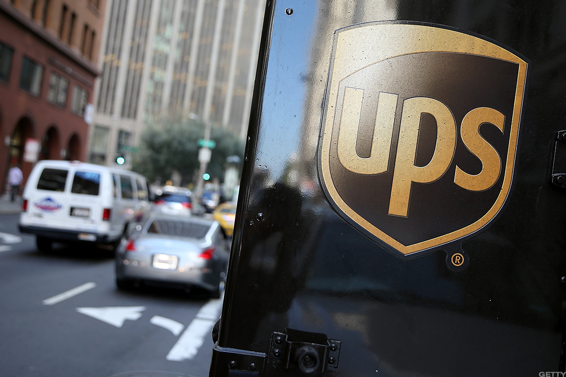 UPS Rises as Analyst Says Network Changes May Be 'Turning Point'