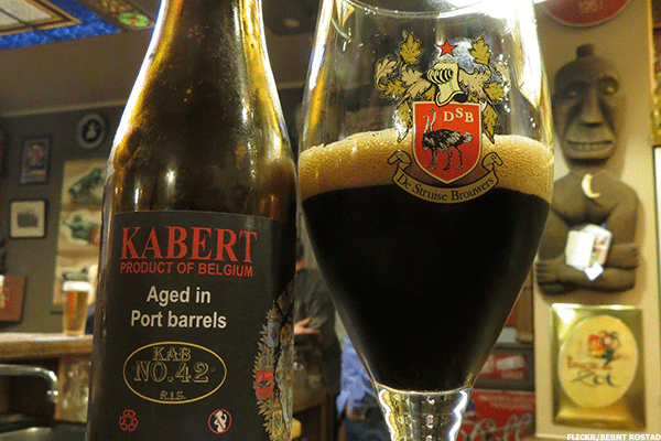 4. 2011 De Struise Browers KABERT and Cuvee Delphine (750-milliliter bottle)