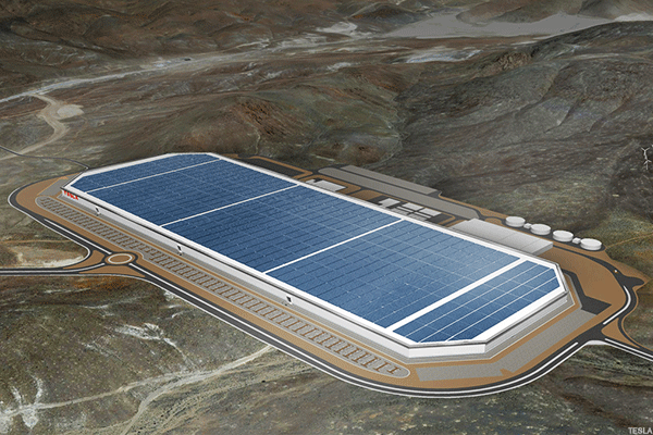 Tesla's Gigafactory Is Actually a Battleground, Jim Cramer Explains