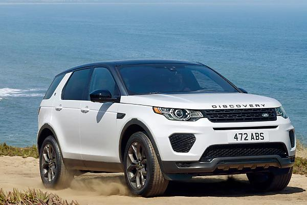 3. Land Rover Discovery Sport