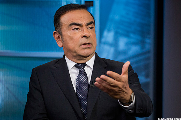 Carlos Ghosn, chairman and CEO of Renault, chairman of Nissan, and chairman and CEO of the Nissan-Renault-Mitsubishi global alliance.