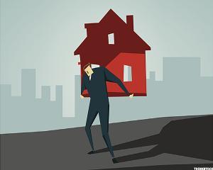 Image result for Mortgage debt illustration