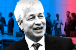 JPMorgan CEO Jamie Dimon Reigns Over Wall Street's Last Boys' Club