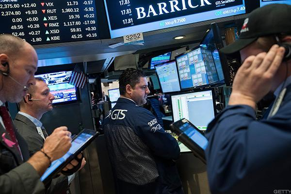 Stocks Gain as Crude Rises for a Third Day, FAANG Stocks Make Moves