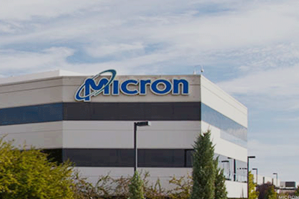 Micron has led the pack of chip companies in terms of year to date gains.
