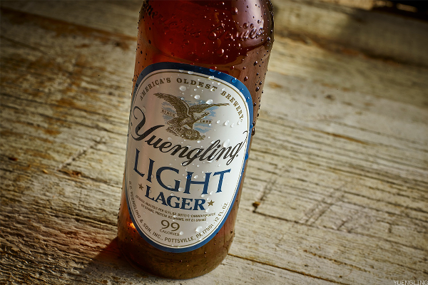 11. Yuengling Light Lager