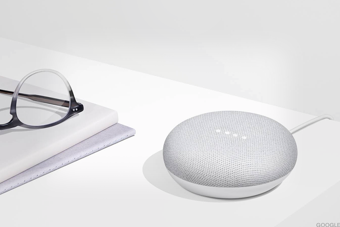 The Google Home Mini