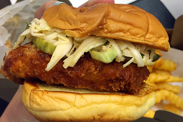 We Tried Shake Shack's New Limited Edition Spicy Chicken Sandwich and Couldn't Have Been Happier