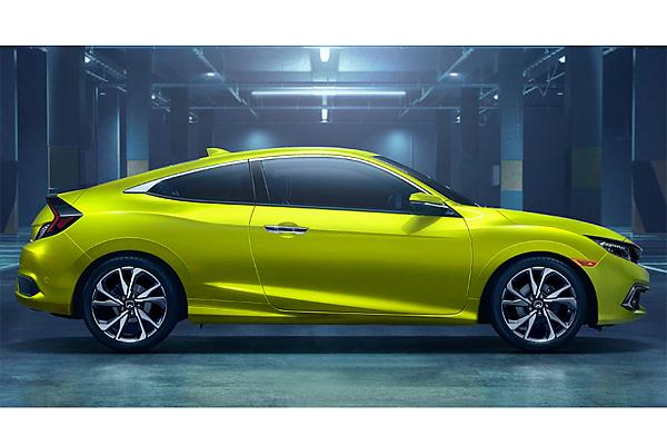 2019 Honda Civic 2Dr 1.5 L, 4 cyl, Automatic, Turbo, Regular Gasoline