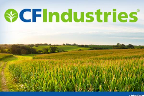 CF Industries Slips After RBC Downgrade