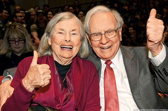 Buffett is a well-known philanthropist.
