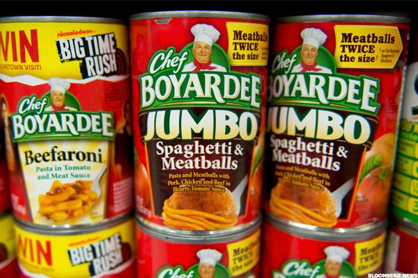 Conagra Stock Dips, Chef Boyardee Recalls Over 700,000 Pounds of Spaghetti and Meatballs