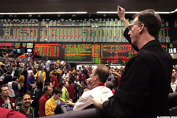The CME Group operates the Chicago Mercantile Exchange and other trading pits.