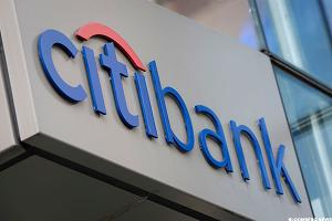 Citigroup May Be Bound for a Breakout