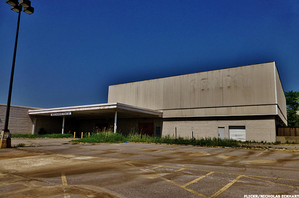 A former Sears store.