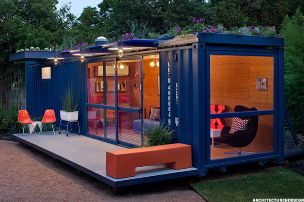 Living in a shipping container the new look of affordable housing thestreet - Wel designed shipping container homes for life inside the box ...