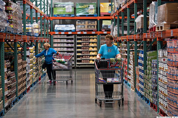 How costco is winning its battle against wal mart 39 s sam 39 s for Entrepot carrelage