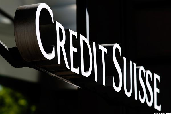 Credit Suisse Shares Sink to December Lows on Capital Hike Report