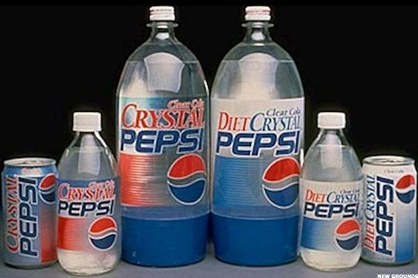 Image result for Crystal pepsi