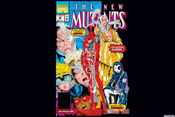 2. New Mutants, No. 98 (1991)