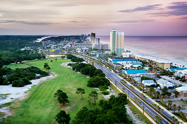 1. Panama City Beach, Fla.
