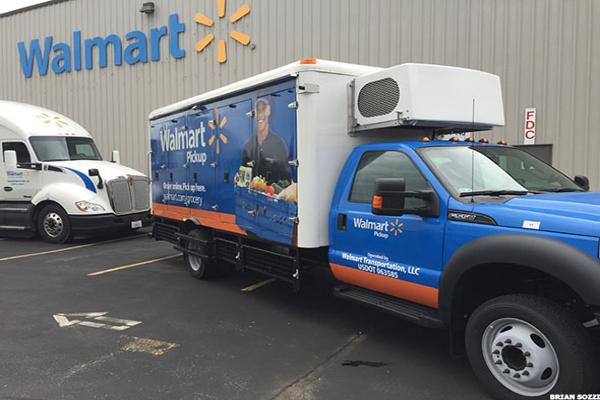 Jim Cramer -- Walmart Is Leading the Rebound in Retail