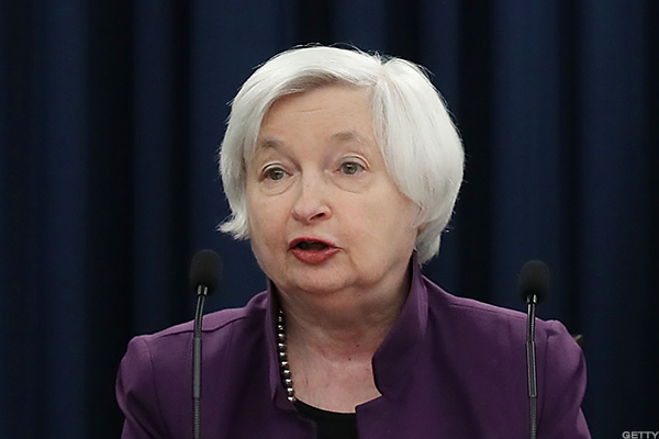 Stocks shrugged off hawkish comments by Yellen issued on Tuesday.