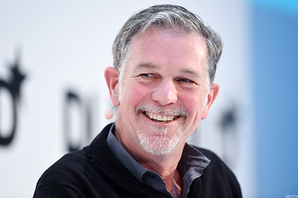 Netflix CEO Reed Hastings: $106,311,606