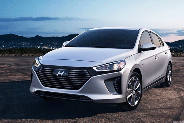 Quit smoking (low emissions vehicle): Hyundai Ioniq Electric