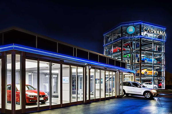 A Carvana dealership.