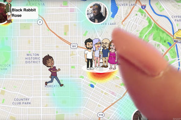 Snap's new Snap Maps feature