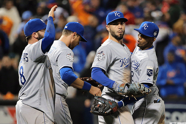 10. Kansas City Royals at New York Mets