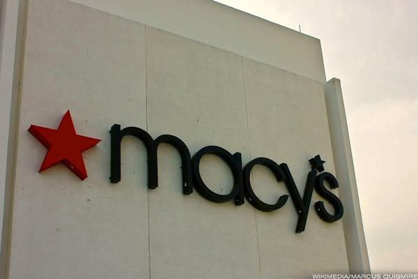 Macy's struggles in the first quarter.