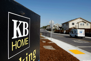 Charting Jim Cramer's Top 10 Takeout Candidates for 2017: KB Home