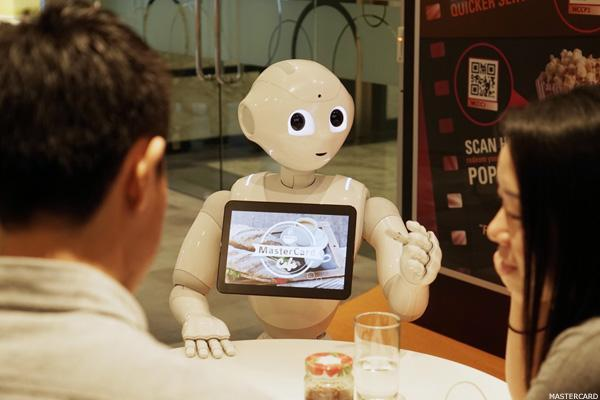 Here's How 'Pepper' the Robot Is Helping MasterCard Process Payments